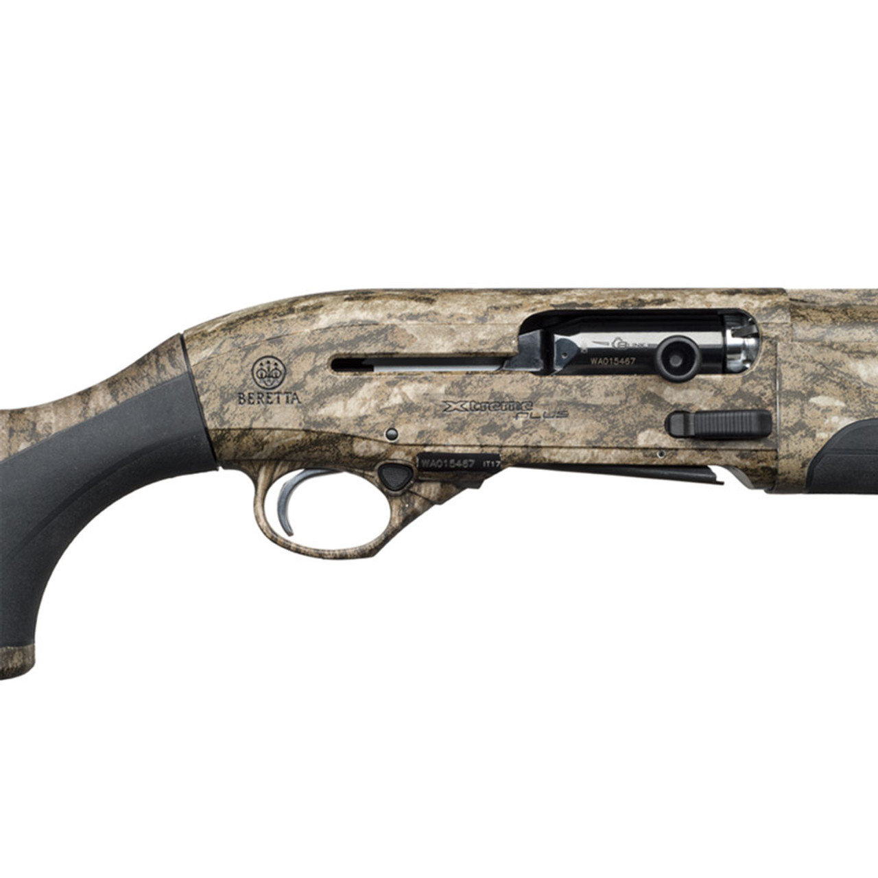 BERETTA A400 Xtreme Plus KO 12Ga 26in 3rd 3 5in Mossy Oak Bottomland  Semi-Automatic Shotgun (J42XU16)