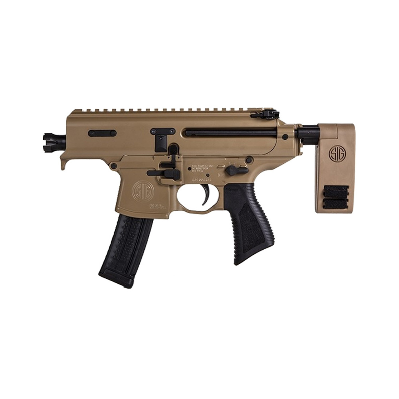 SIG SAUER SIG MPX Copperhead 9mm 3 5in 20Rd Cerakote Pistol (PMPX-3B-CH)