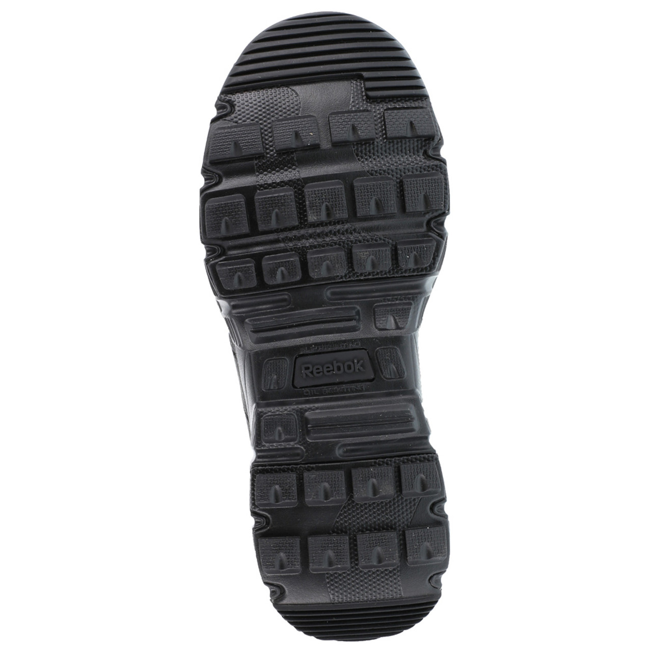 b2ad64ce6fa160 ... REEBOK Mens Dauntless 8in Ultra-Light Black Tactical Boots with Side  Zipper (RB8720)