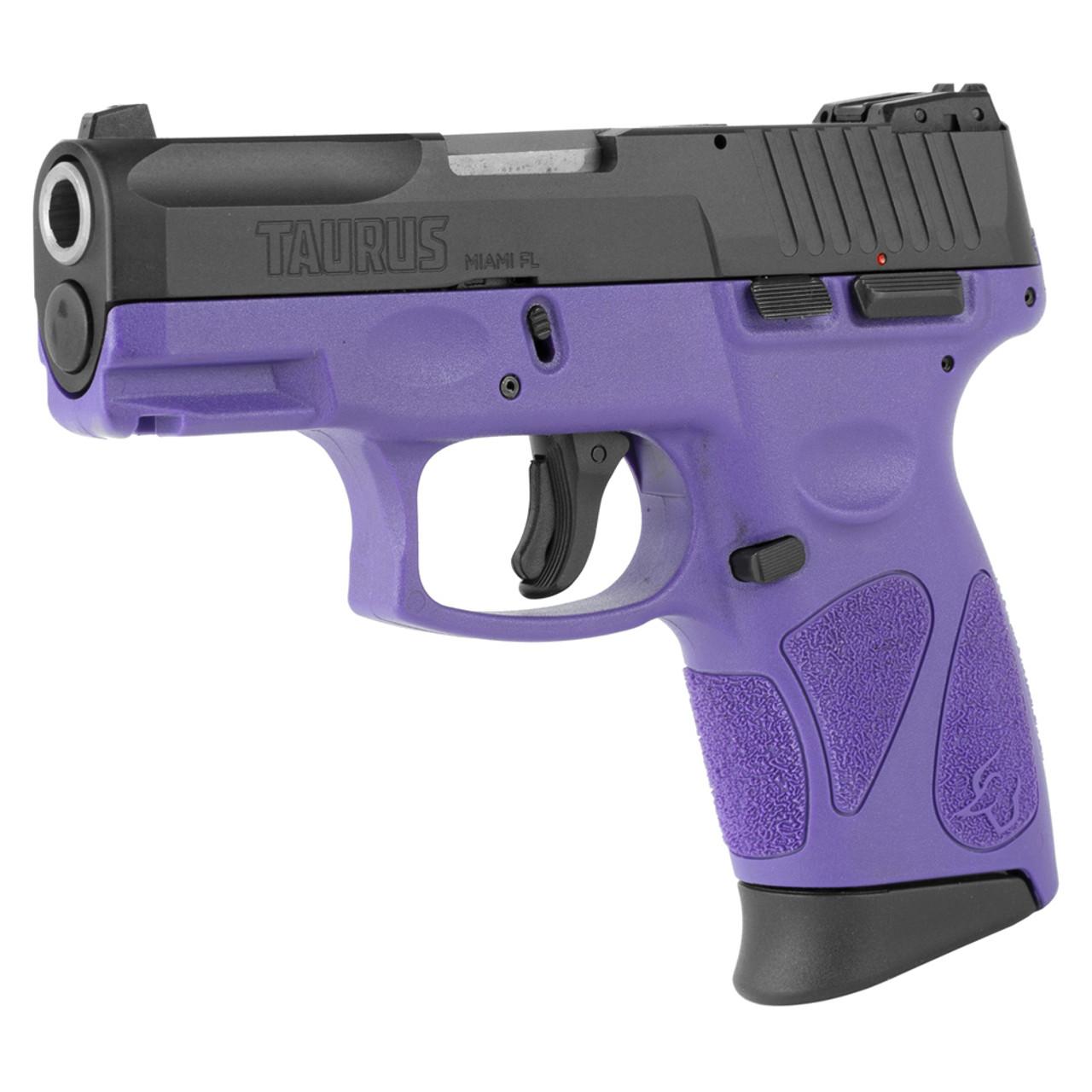TAURUS G2c 9mm 3 25in 2x 12rd Dark Purple Black Pistol (1-G2C931-12DP)