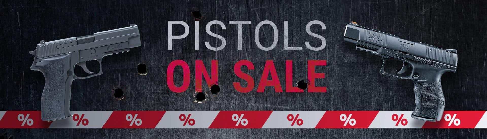 Pistols on Sale