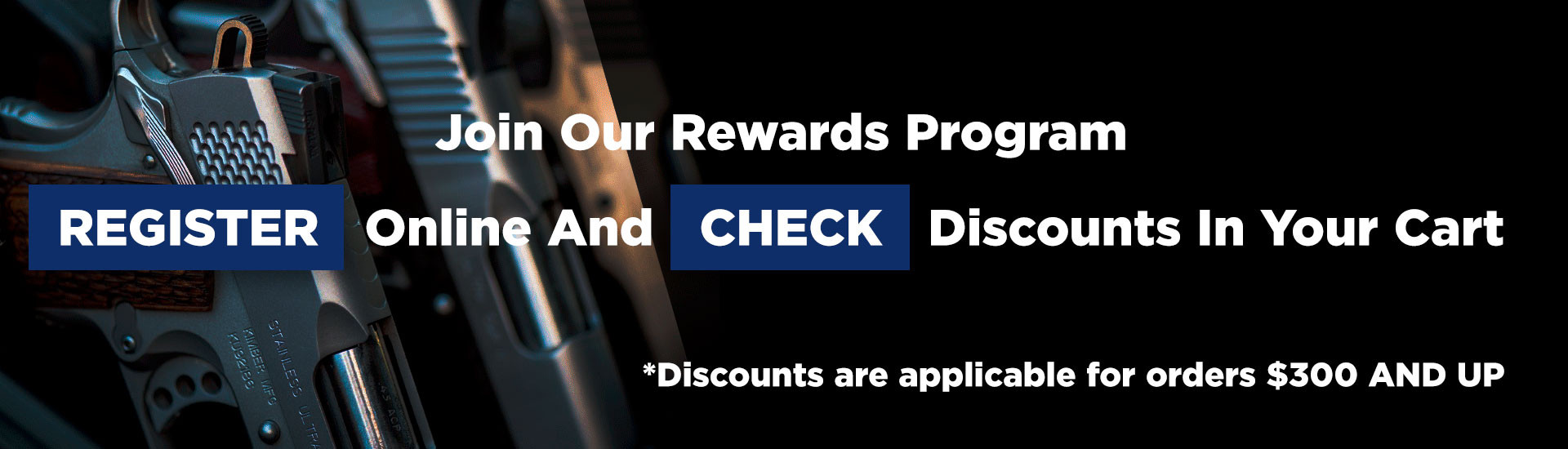 Join Our Rewards Program