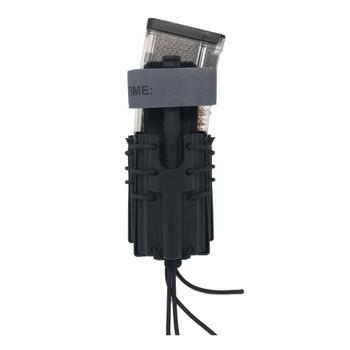 WILDER TACTICAL Stacked AR-15/Tourniquet Molle Black Magazine Pouch (WT-AR/T-B-M)