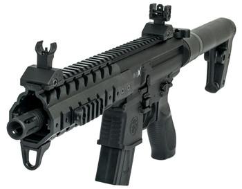 SIG SAUER MPX 177mm 88 Gr CO2 Black Air Rifle (AIR-MPX-177-88G-30-BLK)