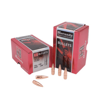 HORNADY .30 Cal 150Gr FMJ-BT Rifle Bullets (3037)