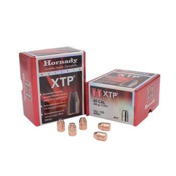 HORNADY .45 Caliber 250Gr XTP Pistol Bullets (45200)