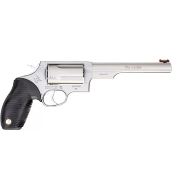 TAURUS Judge 410 Ga/45 LC 6.5in 5rd Stainless Revolver (2-441069T)
