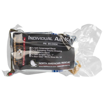 NORTH AMERICAN RESCUE Individual Aid Kit (85-0404)
