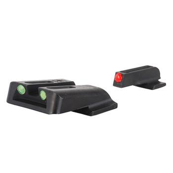TRUGLO Brite-Site Fiber Optic Red, Rear Green S&W M&P Handgun Sights (TG131MP)