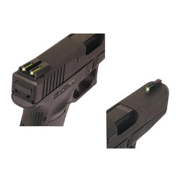 TRUGLO Brite-Site TFO Green, Rear Yellow S&W M&P Handgun Sights (TG131MPTY)