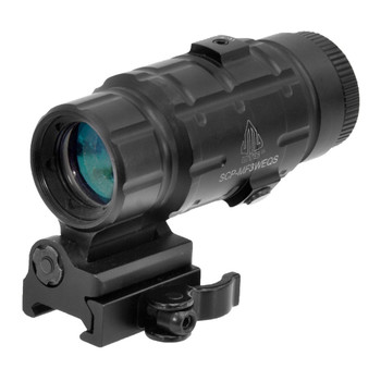 UTG 3x FTS QD Mount Black Sight Magnifier (SCP-MF3WEQS)