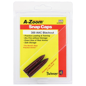 A-Zoom 300-AAC Blackout 2/Pack Snap Caps (12271)