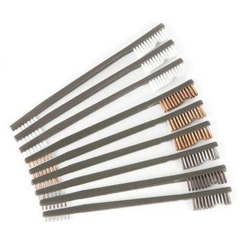 OTIS 3 Nylon,3 Bronze,3 Stainless Steel All Purpose Brushes 9 Pack (FG-316-BP)
