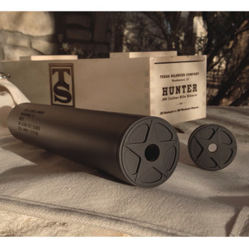TEXAS SILENCER Hunter .308 Caliber Rifle Silencer (HUNTS308)