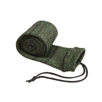 ALLEN 52in Green/Black Knit Gun Sock with Drawstring Closure (168)