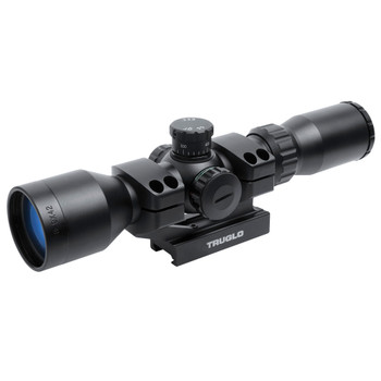 TRUGLO Tactical 3-9x42mm Matte Black BDC Mil-Dot Illuminated Riflescope (TG8539TL)