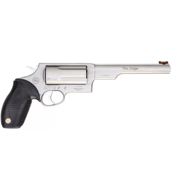 TAURUS Judge .45 Colt/.410 Bore 6.5in 5rd Stainless Revolver (2-441069MAG)