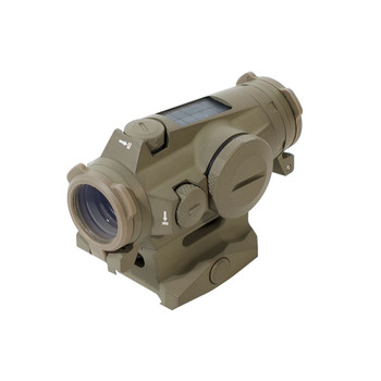 SIG SAUER Romeo4T 1x20mm Ballistic Circle Dot FDE Tactical Solar Red Dot Sight (SOR43131)