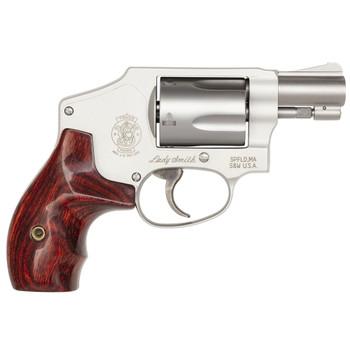 S&W 642 LadySmith 38 Special +P 1.9in 5rd Matte Silver Revolver (163808)