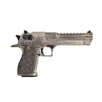 MAGNUM RESEARCH Desert Eagle Mark XIX .44 Magnum 6in 8rd Cerakote White Matte Distressed Pistol (DE44WMD)