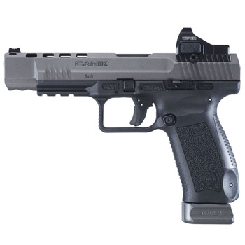 CANIK TP9SFx 9mm 5.2in 20rd Tungsten Grey Pistol with Vortex Viper Red Dot Sight (HG3774GV-N)