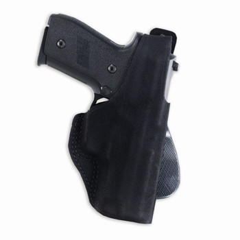 GALCO Paddle Lite S&W J Frame 640 Cent 2.1in Right Hand Leather Paddle Holster (PDL160B)