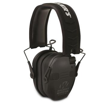 WALKERS GAME EAR Razor Slim 22dB Black Electronic Quad Muff with BlueTooth (GWPRSEQMBT)
