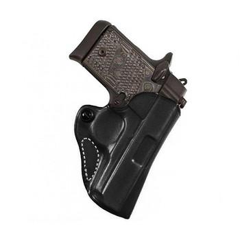DESANTIS 019 Mini Scabbard Right Hand Black SR22/P22 Leather Belt Holster (019BAI3Z0)