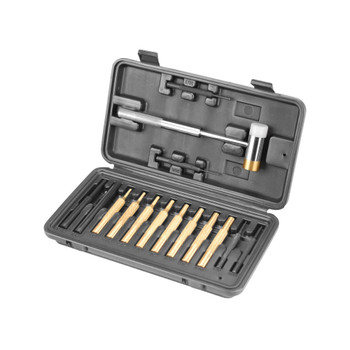 WHEELER Hammer and Punch Set with Plastic Case (951900)