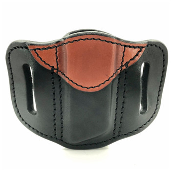 1791 GUNLEATHER MAG 1.2 Single Mag Double Stack Black on Brown Holster (MAG-1.2-BLB-A)