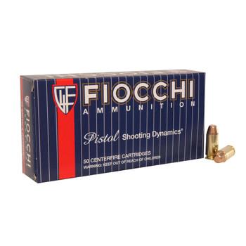 FIOCCHI 40 S&W 170 Grain FMJTC Ammo, 50 Round Box (40SWA)