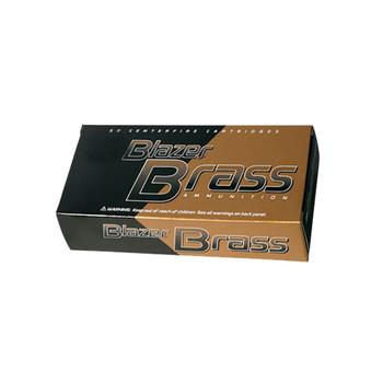 CCI Blazer Brass 40 S&W 180 Grain FMJ Ammo, 50 Round Box (5220)
