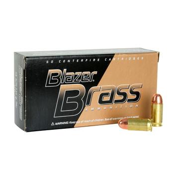 CCI Blazer Brass 45 ACP 230 Grain FMJ Ammo, 50 Round Box (5230)