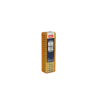 CCI Speer Maxi-Mag 22 LR 40 Grain Gilded Lead Roundnose Ammo, 100 Round Box (30)