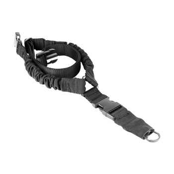 AIM SPORTS One Point Tactical Bungee Black Sling (AOPS01B)