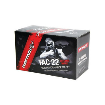 NORMA USA TAC-22 40gr 50 Rd Box 22 LR Ammunition (2318716)