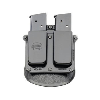 FOBUS 45 ACP Single Stack Double Mag Pouch Belt Holster (4500BH)