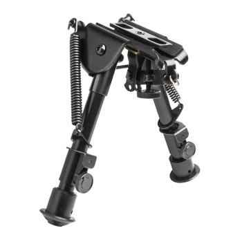NCSTAR Compact Precision Grade Bipod with 3 Mounting Adapters (ABPGC)