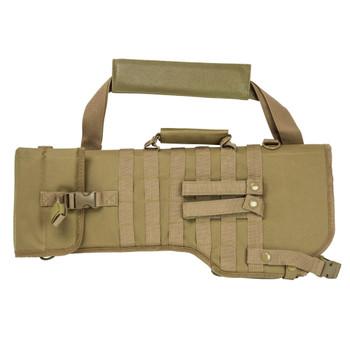 NCSTAR Tactical Tan Rifle Scabbard (CVRSCB2919T)