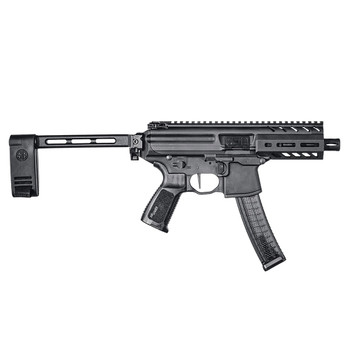 SIG SAUER MPX K 9mm 4.5in 30rd Black Anodized Pistol (PMPX-4B-9)