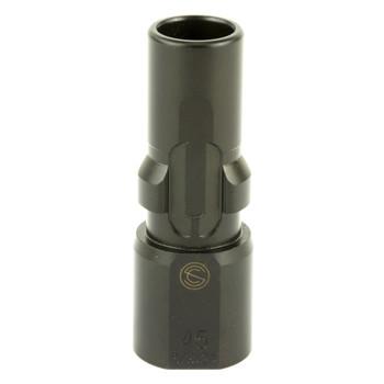 SILENCERCO 45 ACP 5/8x24 3-Lug Muzzle Device (AC2603)