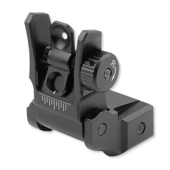 UTG Low Profile Flip-Up Rear Sight with Dual Aiming Aperture (MNT-955)