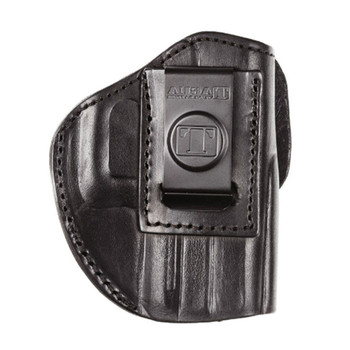 TAGUA GUN LEATHER Texas Glock 26/27/33 Black RH Holster (TX-IPH4-640)