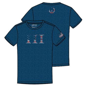 KRYPTEK Kryptek III Navy Heather T-Shirt (18KIIISSCNH)