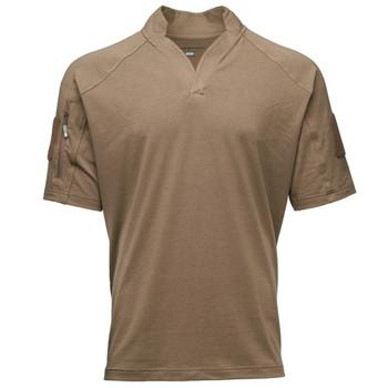KRYPTEK Garrison Short Sleeve Coyote Brown Shirt (19GARSSCT)