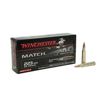 WINCHESTER Match 223 Rem 69Gr HPBT 20/200 Rifle Ammo (S223M2)