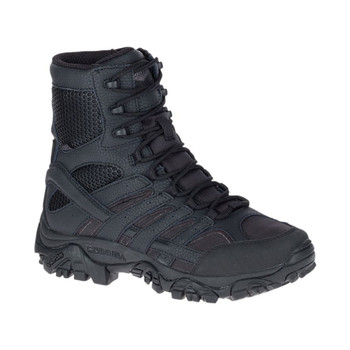 MERRELL Mens Moab 2 8in Tactical Waterproof Black Boot (J15845)