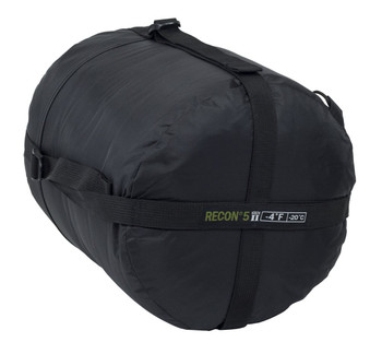 ELITE SURVIVAL SYSTEMS Recon 5 Black Sleeping Bag (RECON5-B)