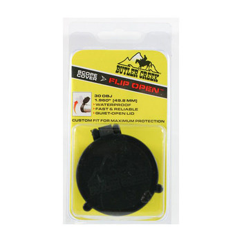Butler Creek Flip-Up Covers, Objective Size 30, 1.960 in., 49.8 mm (30300)