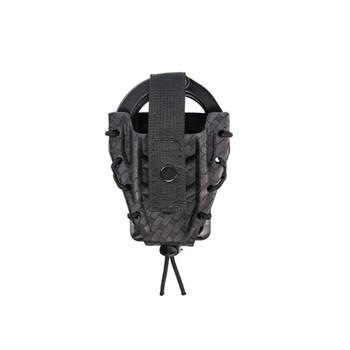 COMP-TAC HSGI Kydex TACO Black/Basket Weave Handcuff Holder (11DCK0BW)